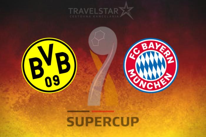 Nemecký Superpohár: Borussia Dortmund – Bayern Mníchov