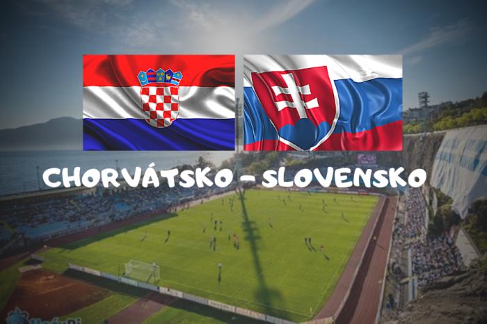 ME vo futbale: Chorvátsko – Slovensko
