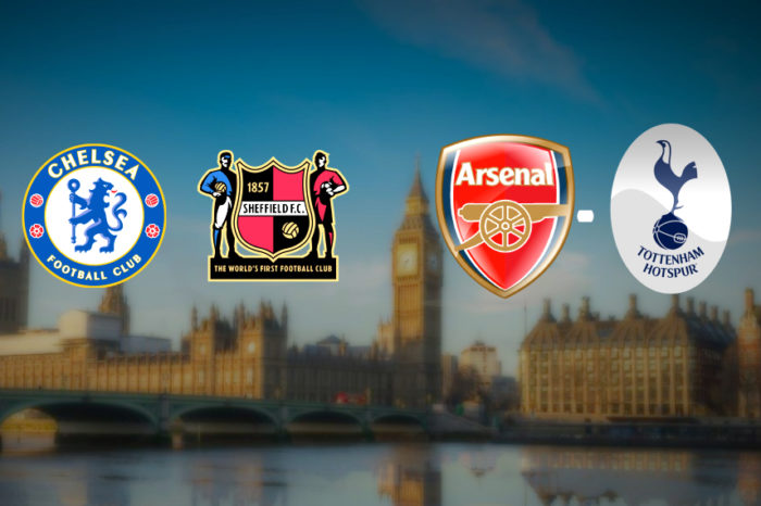 Dvojzápas Premier League: Chelsea-Sheffield  |  Arsenal-Tottenham