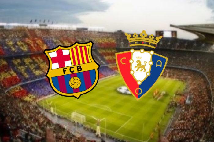 Fc Barcelona – Osasuna
