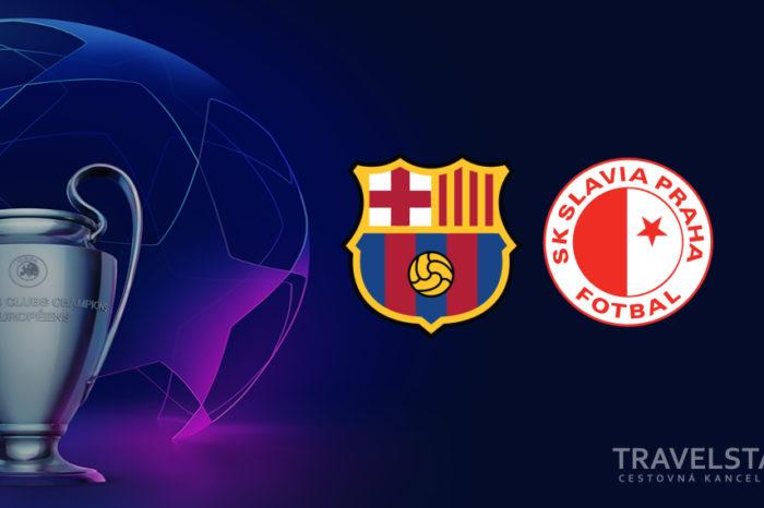 Liga majstrov: Fc Barcelona – Slávia Praha