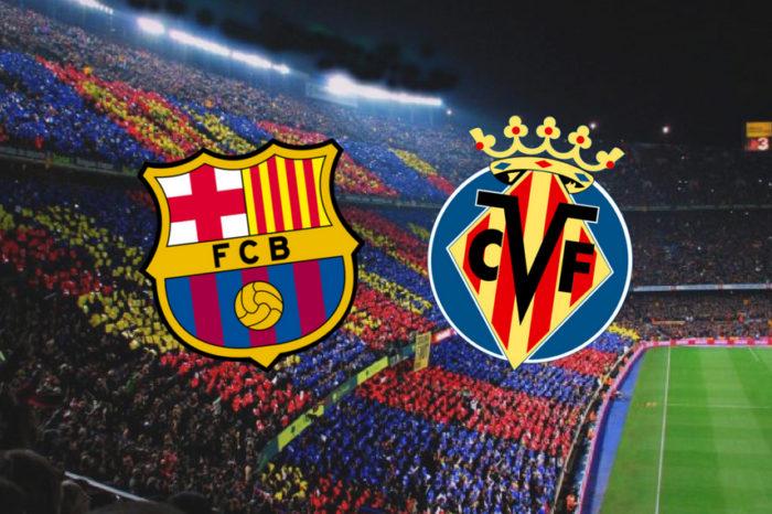 Fc Barcelona – Villareal