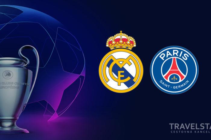 Liga majstrov: Real Madrid – PSG