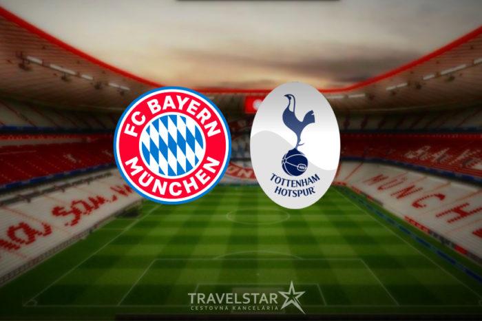 Liga majstrov: Bayern Mníchov – Tottenham