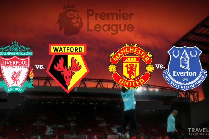 Dvojzápas: Fc Liverpool-Watford | ManUtd-Everton