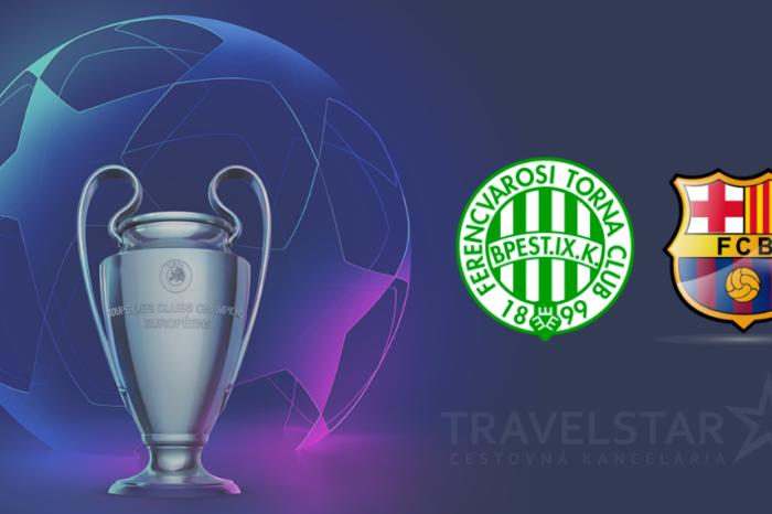 Liga majstrov: Ferencvaros – Fc Barcelona