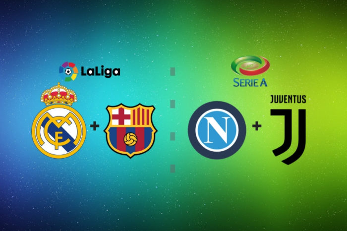 TOP dvojzápas: Real Madrid-Fc Barcelona / SSC Neapol-Juventus Turín