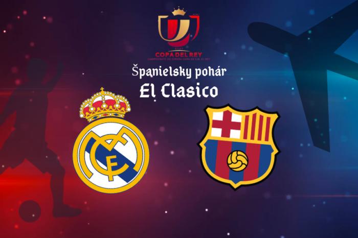 El Clasico – semifinále španielskeho pohára