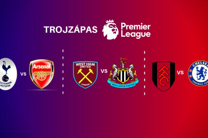 Trojzápas Premier League 2.3.-4.3.2019