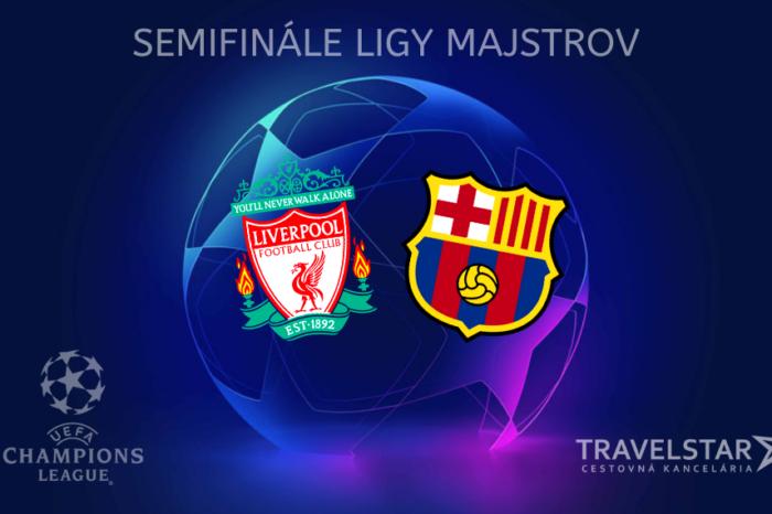 Liga majstrov: Fc Liverpool – Fc Barcelona